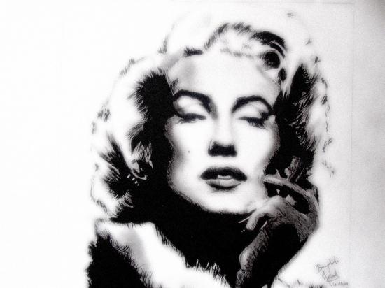 Marilyn Monroe par art-bat